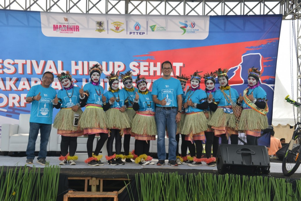 csr kesehatan Jakarta Health Festival 2018