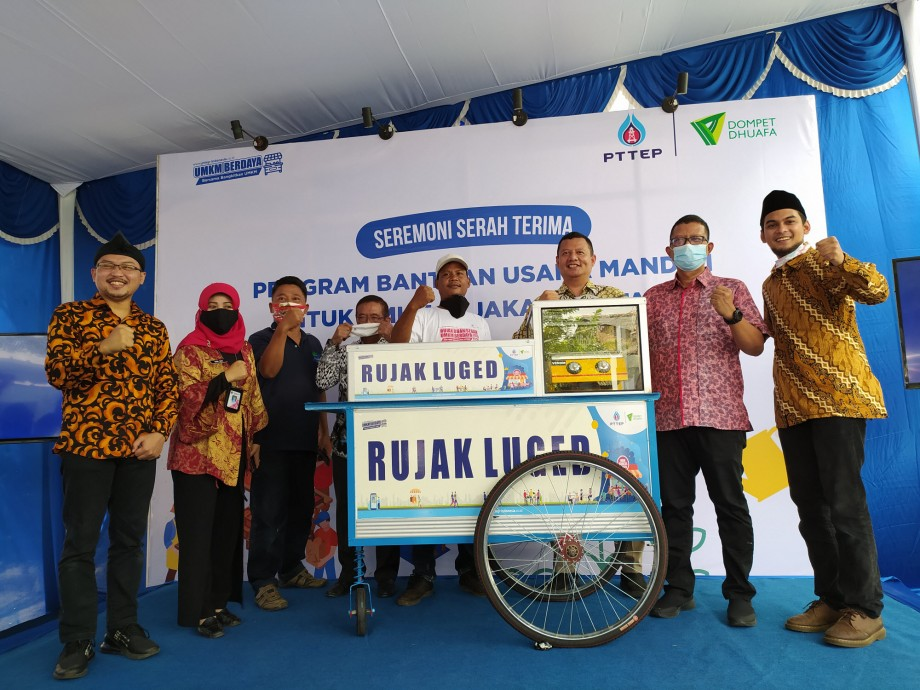 csr kesehatan PTTEP boosts the competitiveness of MSMEs in the midst of a pandemic