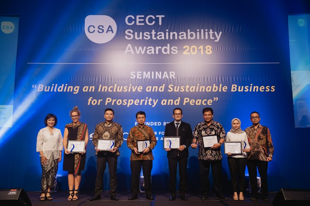 csr kesehatan PTTEP Receive CECT Sustainability Award 2018 - Health & Wellbeing Category