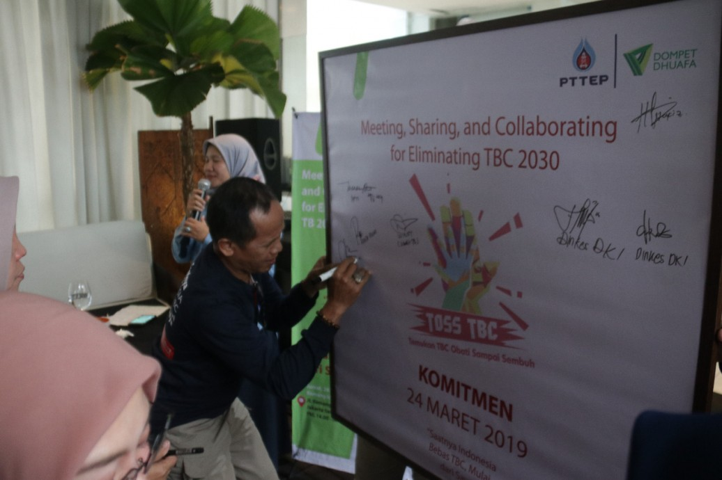 csr kesehatan Meeting, Sharing, and Collaborating for Eliminating TB 2030