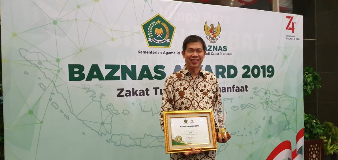 csr kesehatan BAZNAS Award 2019