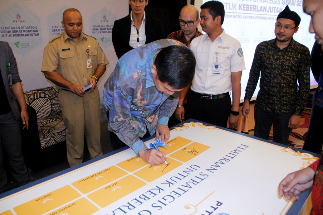 csr kesehatan Strategic Partnership for Continuation of Gerai Sehat Rorotan