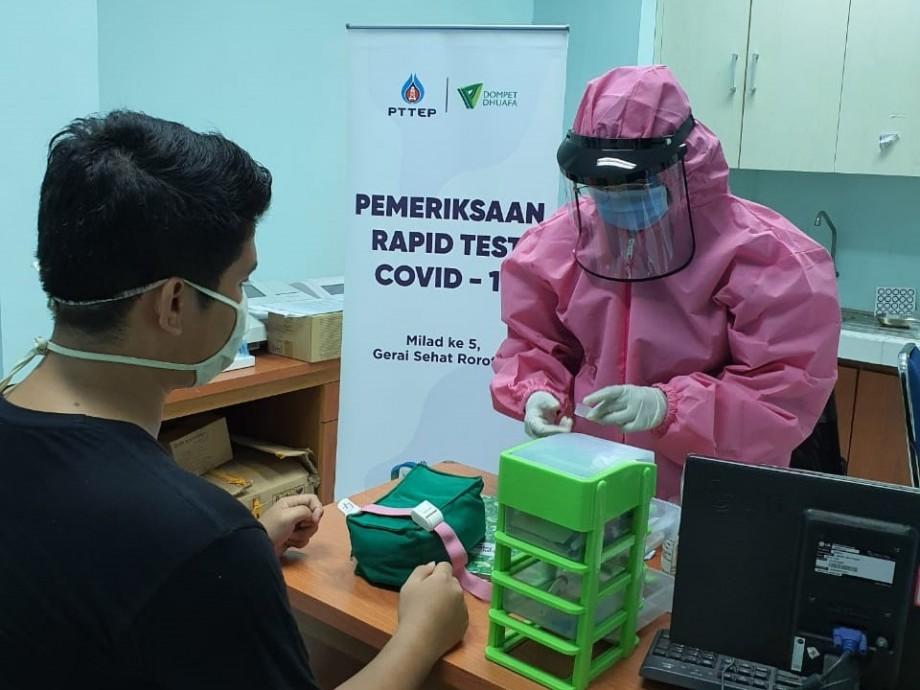 csr kesehatan Donation for Gerai Sehat Rorotan (GSR) community