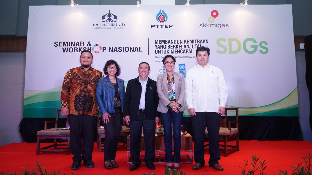 csr kesehatan Sustainable Development Goal Seminar & Roadshow 2018