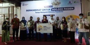 Berita Aiming for 500,000 Patients – Gerai Sehat Rorotan Distribute High Nutrition Packages to Beneficiaries in North Jakarta