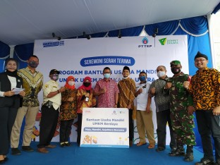 Berita PTTEP boosts the competitiveness of MSMEs in the midst of a pandemic