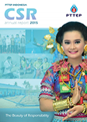 Annual Report 2015 By PTTEP Indonesia